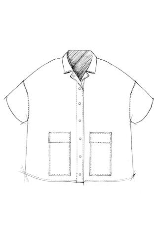 The school of making car coat pattern 2