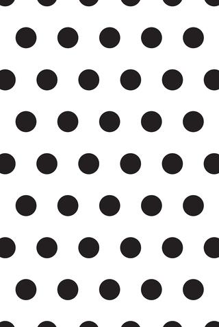 Large Polka Dot Stencil