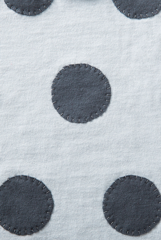 The school of making large polka dot stencil 4