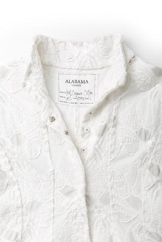 Alabama chanin embellished tiered coat 2