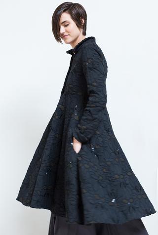 Donovan coat   long tiered coat   lace   viceroy   black   c30   24992   abraham rowe 24