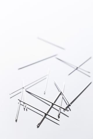 The school of making needle sampler 2