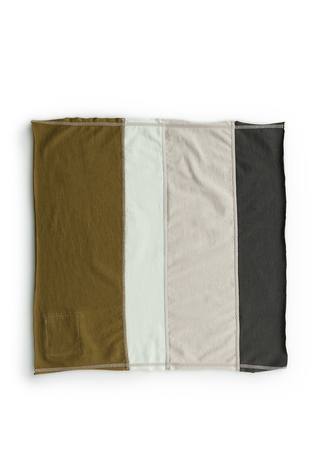 Alabama chanin jersey colorblock napkins 2