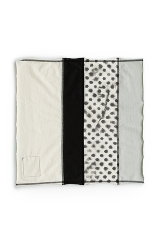 Alabama chanin jersey colorblock napkins 4