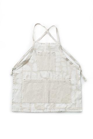 Alabama chanin patterned canvas tony apron 2