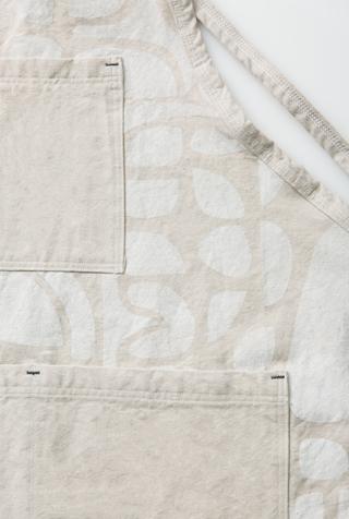 Alabama chanin patterned canvas tony apron 1