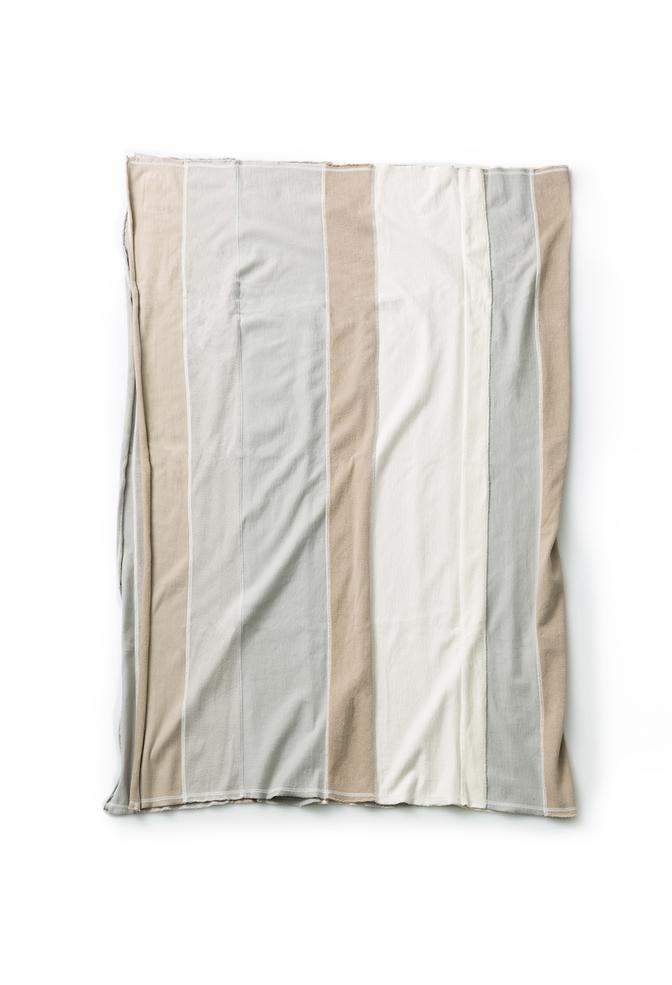 Alabama chanin stripe patchwork emory throw 2
