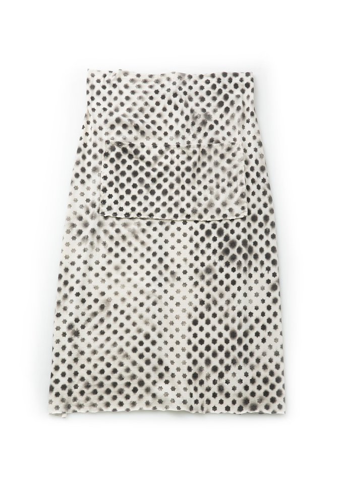 Alabama chanin patterned aria apron 1