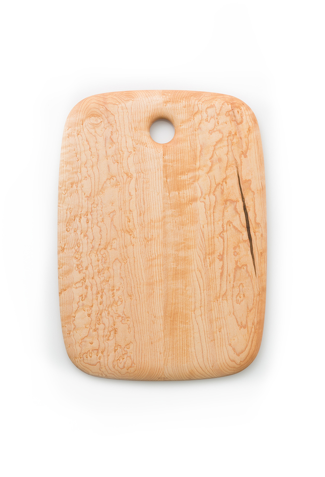 Alabama chanin maple cutting board by edward wohl 1