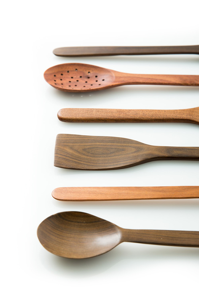 Alabama chanin handmade wooden spoons 1