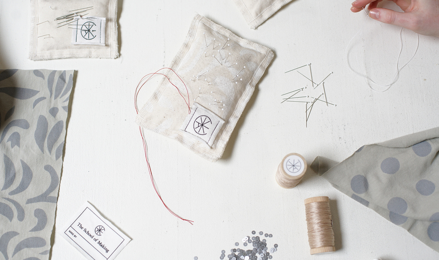 The school of making three day design sewing workshops