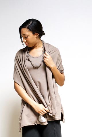 Alabama chanin woven cotton necklace 2