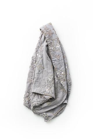 Alabama chanin hand sewn shawl 5