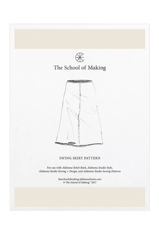 The school of making swing skirt pattern 11