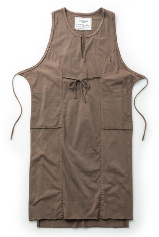 Alabama chanin womens apron smock dress 1
