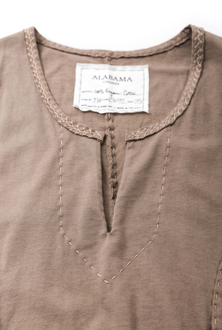 Alabama chanin womens apron smock dress 2