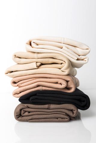 Alabama chanin leisure organic cotton rib knit