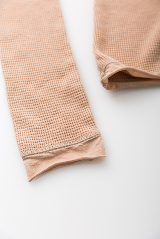 Alabama chanin hooded waffleknit thermal turtleneck 3