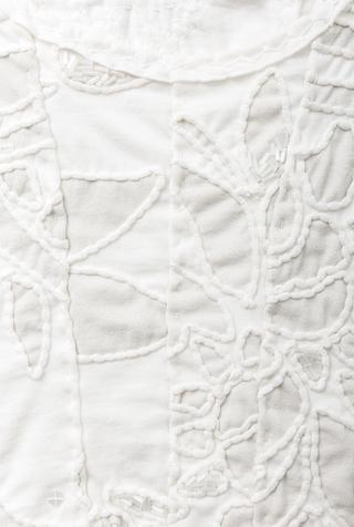 Alabama chanin organic cotton corset top 2