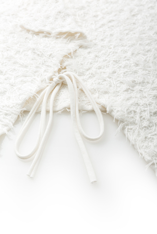 Alabama chanin embroidered tied wrap 2
