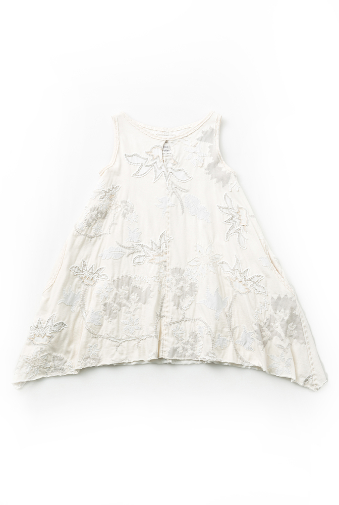 Alabama chanin hand sewn floral aline tunic 1