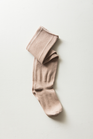 Alabama chanin organic cotton socks 4