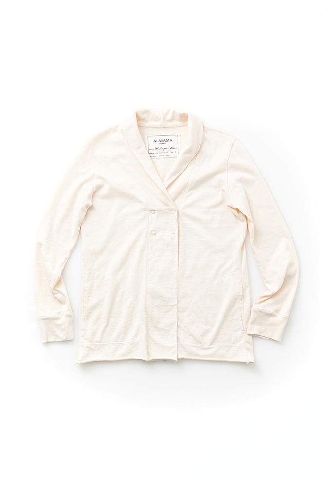 Alabama chanin organic cotton womens cardigan 1