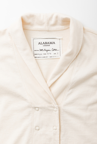 Alabama chanin organic cotton womens cardigan 2