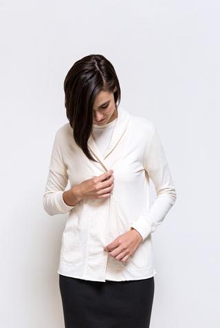 Alabama chanin organic cotton womens cardigan 5