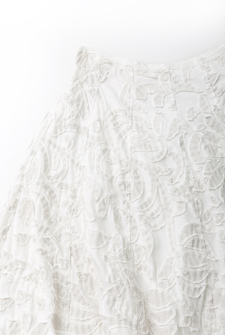 Alabama chanin organic cotton full skirt 3