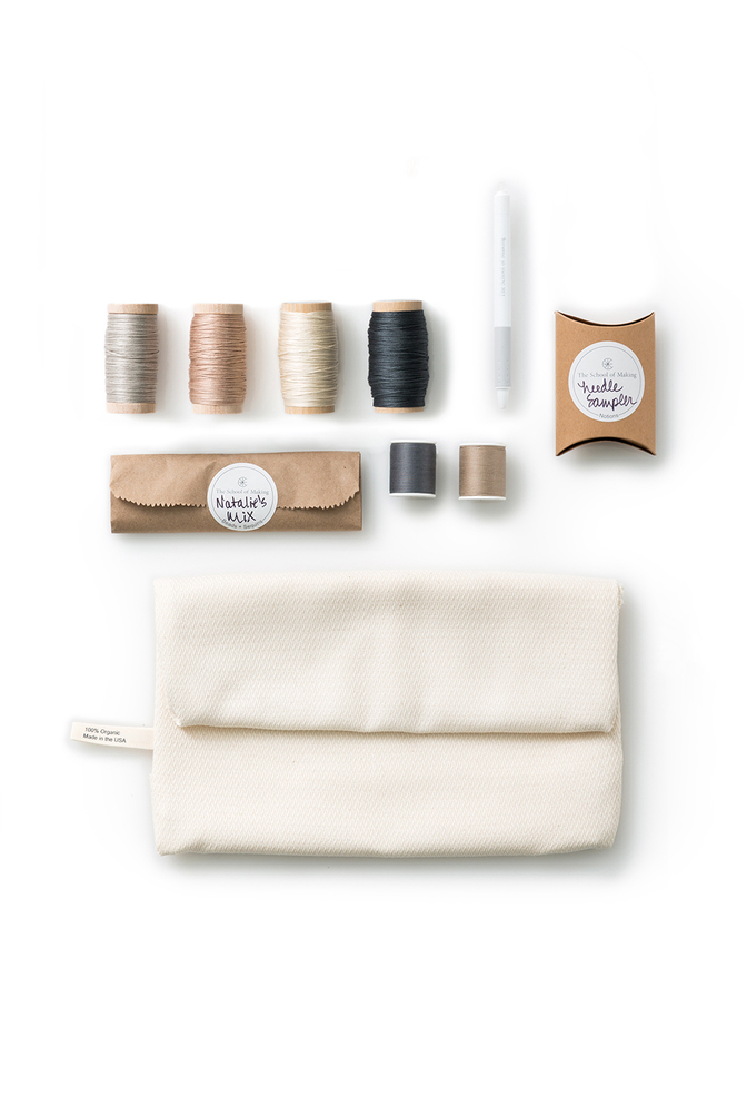 The school of making embroidery sampler kit
