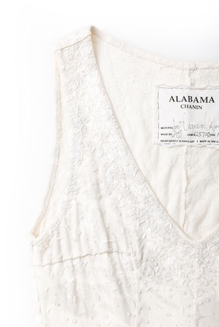 Alabama chanin hand sewn bridal gown 2