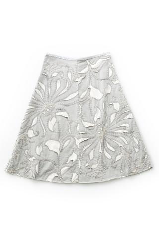 The school of making magdalena swing skirt diy garment kit 2 sf grey