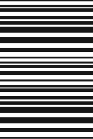 The school of making variegated stripe stencil artwork