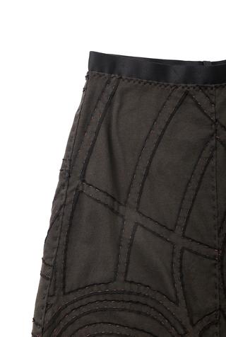 Alabama chanin organic cotton a line andy skirt 3