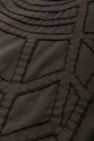 Alabama chanin organic cotton a line andy skirt 4
