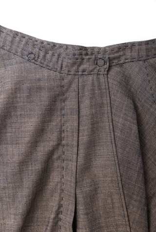 Alabama chanin chambray organic handsewn leighton full skirt 3