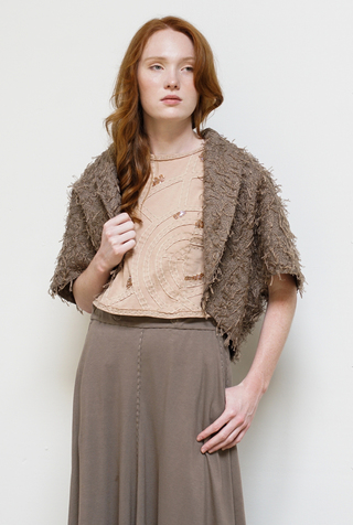 Alabama chanin hand embroidered womens darcy jacket 1