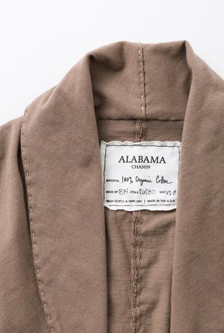Alabama chanin handsewn cotton shawl 4