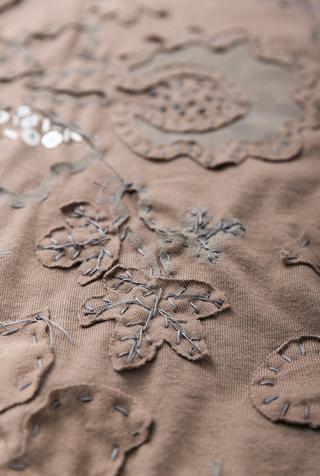 Alabama chanin embroidered cotton tunic 4