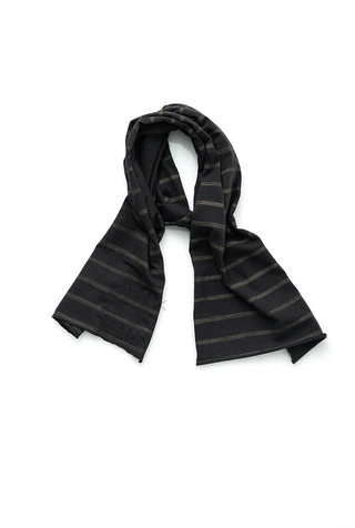 Alabama chanin stripe cotton scarf 2