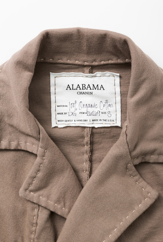 Alabama chanin double breasted cardigan 5