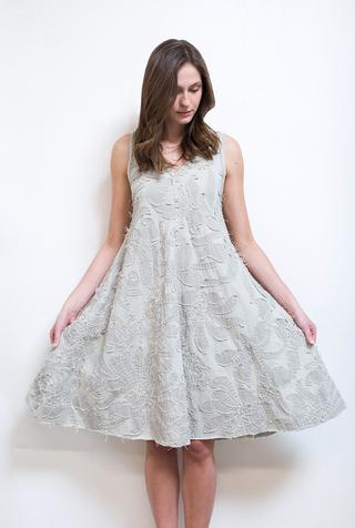 The school of making magdalena a line dress diy kit 4