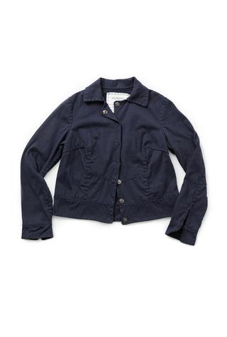 Alabama chanin cropped cotton jacket 5