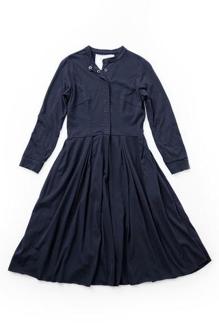 Alabama chanin womens pleated skirt dress 1