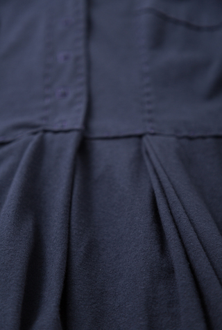 Alabama chanin womens pleated skirt dress 2