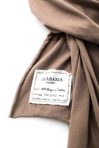 Alabama chanin organic cotton wrap shawl 3