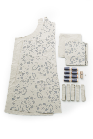 The school of making daisy maggie dress diy sewing kit 5