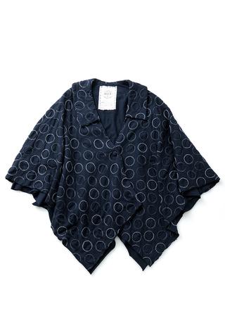 The school of making polka dot walking cape diy sewing kit 1