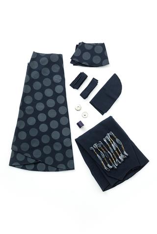 The school of making polka dot walking cape diy sewing kit 3
